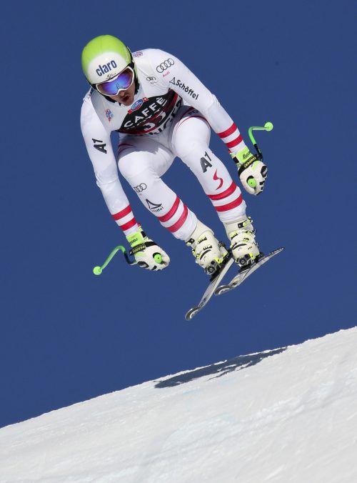 Als Speedspezialist freut sich Frederic Berthold auf sein Skicross-Debüt. gepa