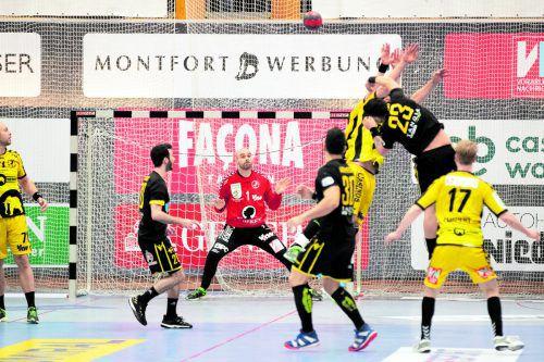 An Goalie Goran Aleksic lag es nicht, dass sich Bregenz gegen A.E.K. Athen aus dem Europacup verabschiedete.VN/Sams