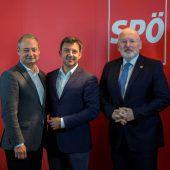 SPÖ-Kandidaten für die Europawahl stellen sich vor