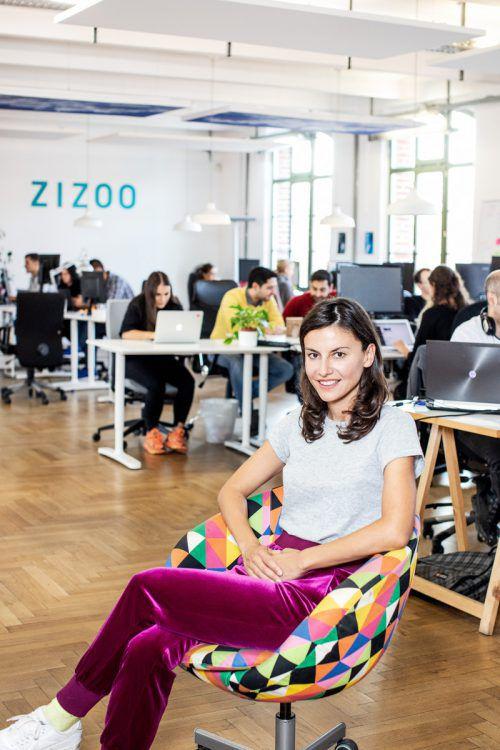 Anna Banicevic ist Co-Gründerin der Buchungsplattform Zizoo. MATOJOHANNIK