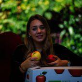 Frucht mit Biss