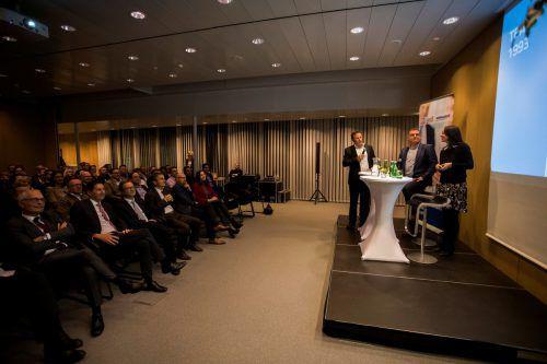"""Auch nach zehn Jahren """"UnternehmerIn sein heute"""" immer noch ein volles Haus.VN/Paulitsch"""