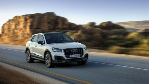 Audi Q2: Der Kleinste der kompakten SUV-Baureihen steht auf der Plattform des Q3. Die Einstiegsversion hat als Antrieb einen Dreizylinder-Benziner.