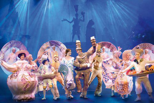 """""""Die Schöne und das Biest"""" basiert auf einem französischen Märchen und wurde opulent umgesetzt.Veranstalter/T. Mardo"""