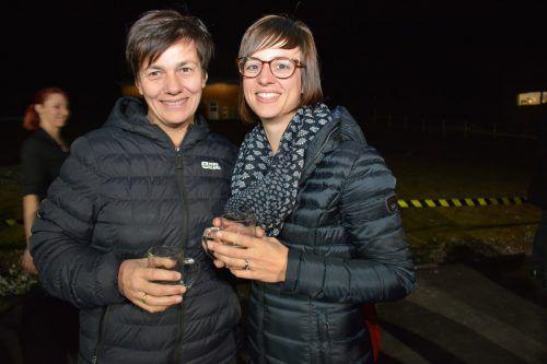 Begeisterte Gäste: Barbara und Silvia Kranzelbinder.afp/Veranstalter