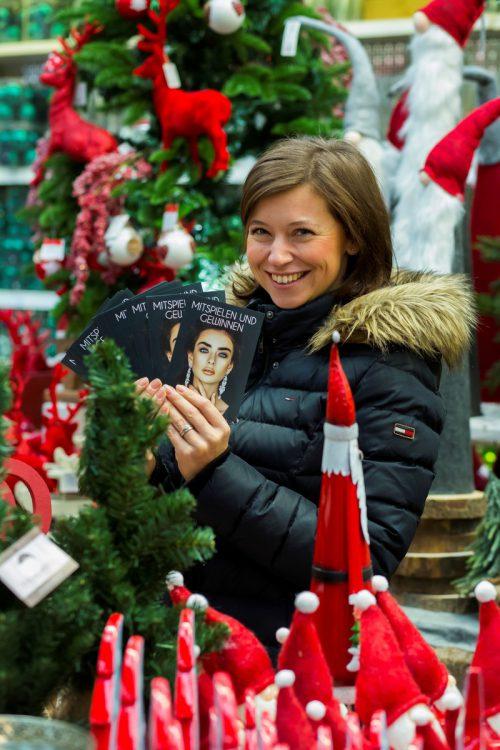 Beim Weihnachtsgewinnspiel winken wertvolle Preise. VN/Paulitsch