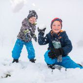 Hurra! Schnee ist im Anmarsch