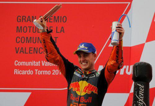 Bescherte KTM den ersten Podestplatz in der Moto-GP: Pol Espargaro. reuters