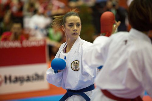 Bettina Plank greift bei der Karate-WM am Samstag nach Bronze.ÖKB