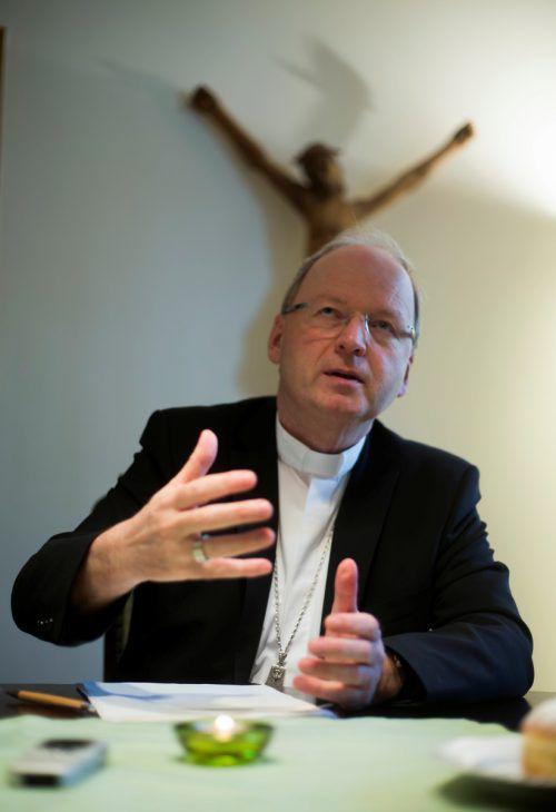 Bischof Benno Elbs ist stets um Ausgleich bemüht.vn/paulitsch