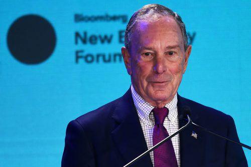 Bloomberg hat seiner Universität bereits 1,5 Milliarden Dollar gespendet. AFP