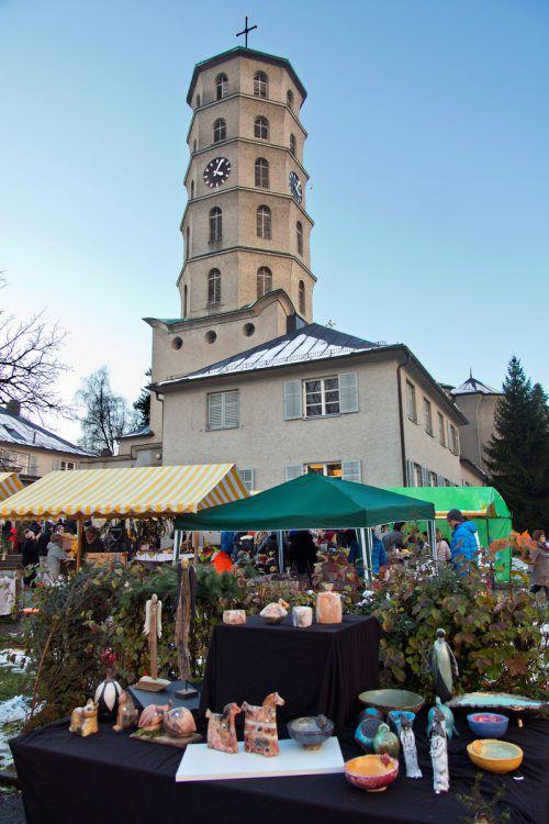 Das Adventmärktle erwartet kommenden Sonntag seine Besucher.