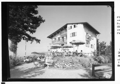 Das Restaurant am Karren auf einer Aufnahme von 1967.
