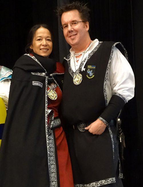 Das Ritterpaar Markus I. und Manuela.tf