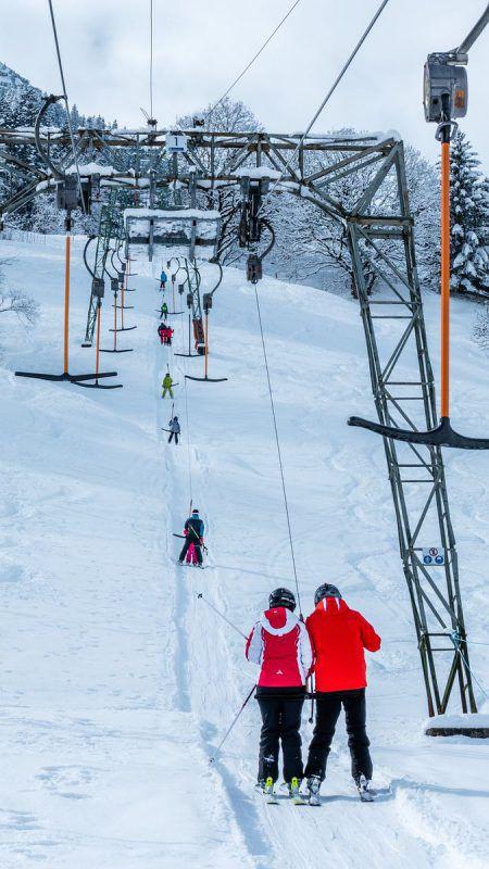 Das Skigebiet Raggal bietet Skivergnügen mit drei Aufstiegshilfen. Skilifte Raggal