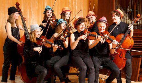 Die Messis Cellogruppe unter der Leitung von Evelyn Fink-Mennel ist beliebt: Am Samstag ist die Formation im Bahnhof Andelsbuch und am Sonntag im Angelika-Kauffmann-Saal zu sehen und hören.messis Cellogruppe/Hubert Cernenschek
