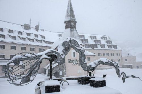 Dem Arlberg Hospiz Hotel in St. Christoph am Arlberg wurde eine betriebliche Umstrukturierung verpasst. TT/Böhm