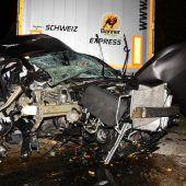 Vorarlberger bei Unfall in der Schweiz getötet