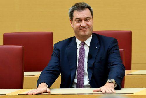 Der 51-Jährige erhielt im Landtag die nötigen Stimmen für die Wiederwahl. reuters