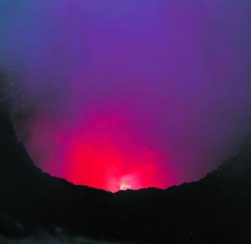 Der Blick auf die Lava des Masaya ist ein einmaliges Erlebnis.
