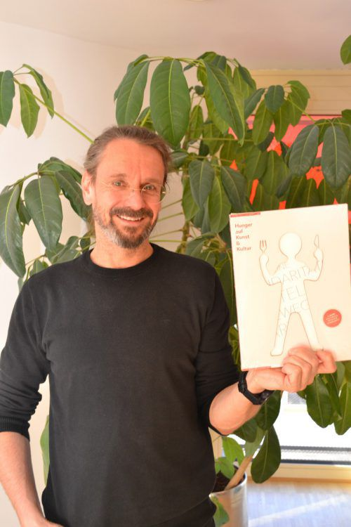 """Der Bürser Konrad Steurer ist Mitinitiator des Projekts """"Hunger auf Kultur"""" das dieser Tage sein zehnjähriges Jubiläum feiert. BI"""