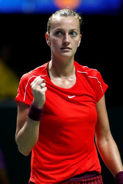 Der Einsatz von Petra Kvitova bei Tschechien ist fraglich.