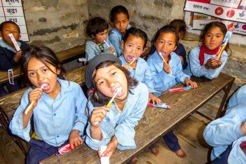 """Der Erlös des Benefizabends kommt Kindern in Nepal zugute, die durch Hilfsprojekte von Chay Ya Austria und """"Let the children walk"""" betreut werden. chayya"""