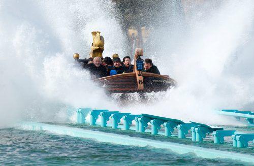 Der Europapark lockt jährlich rund 5,6 Millionen Besucher. Reuters