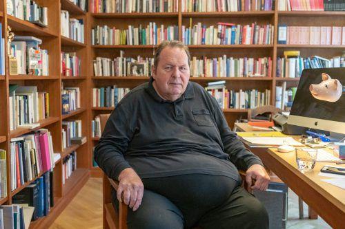 Der Schauspieler und Kabarettist Ottfried Fischer hat mit seinen 65 Jahren noch einiges vor, will sich aber nicht totarbeiten. APA, DPA