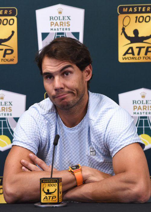 Der Spanier Rafael Nadal wird in London verletzungsbedingt fehlen.atp