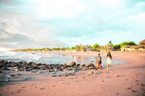 Der Strand von Las Peñitas ist auch für die Bewohner von León ein beliebtes Wochenendziel. Beate Rhomberg (5)