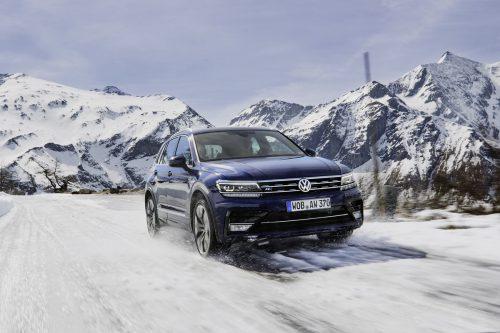 Der VW Tiguan wird jetzt als Austria-Sonderedition offeriert: 2,0-l-Diesel, 115 PS, manuelles 6-Gang-Getriebe und Frontantrieb. Standard-Preis: ab 33.810 Euro für den 1,5 TSI (Turbobenziner) mit 150 PS und Handschaltung.