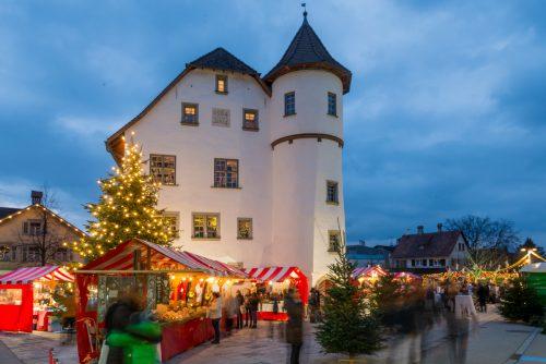 Der Weihnachtsmarkt beim Jonas-Schlössle gilt als einer der schönsten im Land. Ab heute, Freitag bis Sonntag, 2. Dezember, hat er geöffnet. WG Götzis
