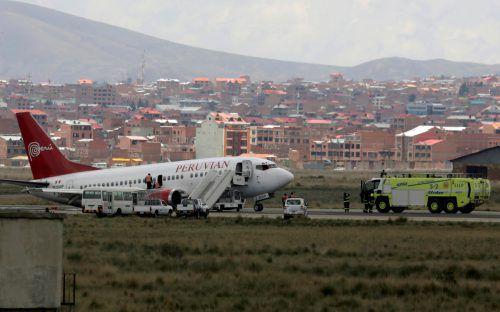 Die 122 Passagiere und fünf Besatzungsmitglieder blieben unverletzt. Reuters