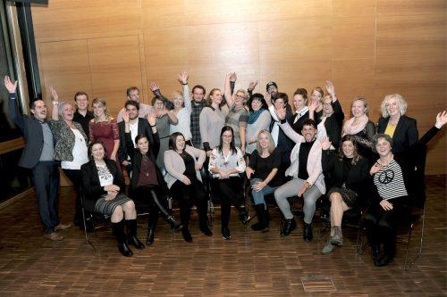 Die Absolventen des ersten Pflege-Praktikumslehrgangs durften sich zurecht über ihre erfolgreiche Ausbildung freuen.vlk/kees
