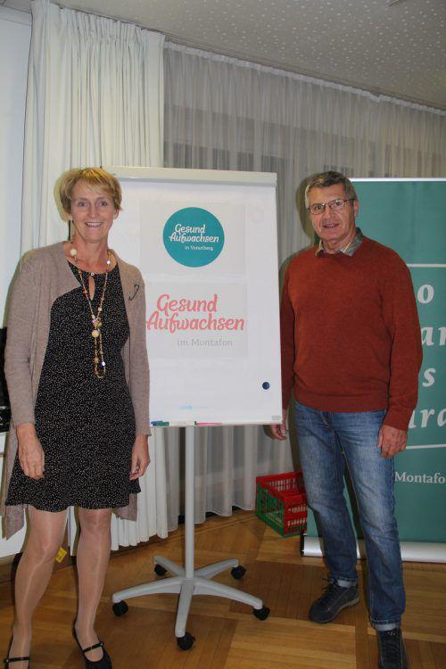 Die beiden Projektleiter Uli Amann und Siegi Stemer luden zum Infoabend. str