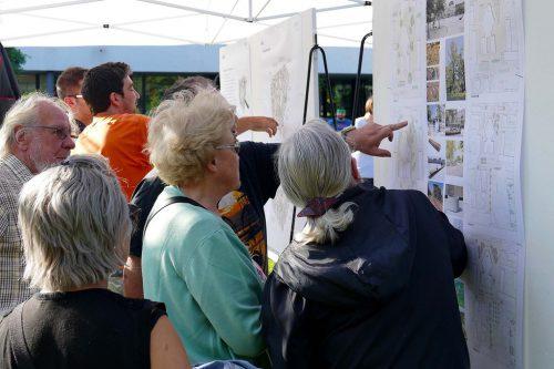Die Bürgerbeteiligung im Rahmen der Quartiersentwicklung ist ein wichtiges Anliegen der Stadtteilebüros. Fst