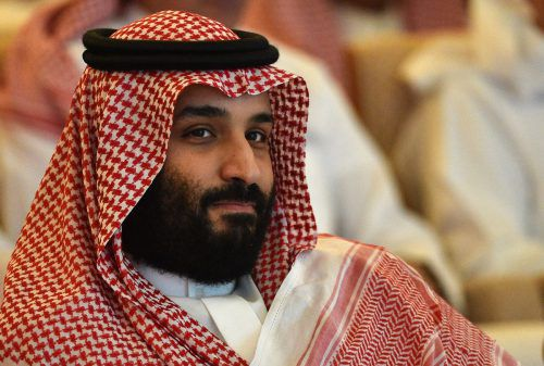 Die CIA hat angeblich eine Aufnahme von Prinz Bin Salman. AFP