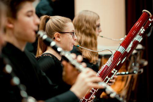 Die Fagottistin Johanna Bilgeri (17) besucht die Klasse von Allen Smith am Landeskonservatorium. Victor Marin
