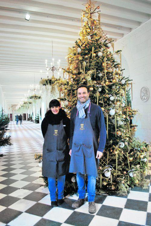 Die Floristen Aurélie Fachin und Jean-François Boucher sind ausgezeichnete Meister ihres Fachs. edith rhomberg (5)
