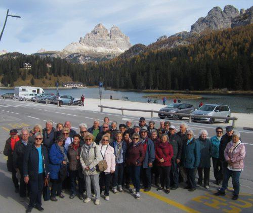 Die Harder Senioren genossen drei Tage in Südtirol. sb hard