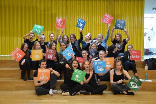 Die Jugendbotschafter der Caritas Vorarlberg setzen sich für die Kinderrechte ein. caritas