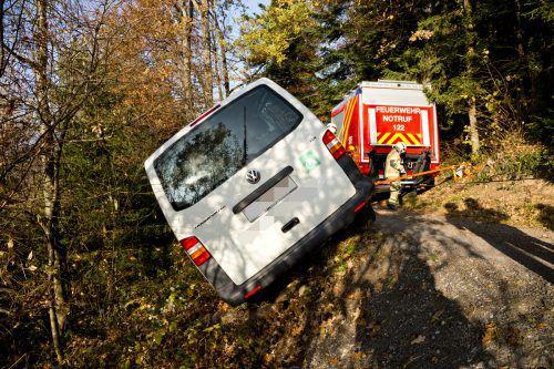 Die Lenkerin des Kleinbusses hatte sich zunächst abgesetzt, konnte aber ermittelt werden. D. Mathis