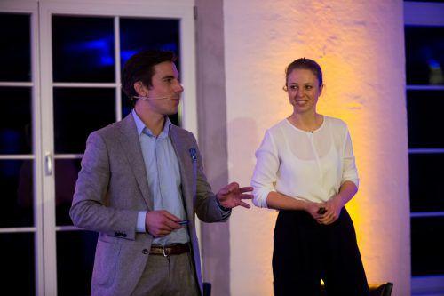 Die Markenexperten Bernhard Scholz und Johanna Otto-Erley erklärten, wie Millennials denken.VN/Paulitsch