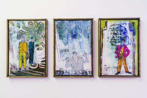 Die nun in der Galerie Arthouse präsentierten Arbeiten von Harald Gfader sind in den letzten vier Jahren entstanden. stiplovsek