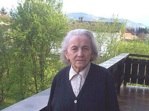 Die Russ-Preis-Trägerin Maria Summer war auch Anti-Atomkraft-Aktivistin. gorbach