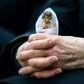 Religiöse Österreicher mit Gottesglauben