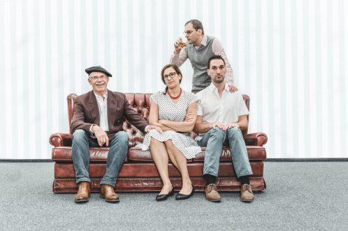 """Die Theatergruppe Hohenweiler präsentiert heuer das Stück """"Vergiss Mein Nicht"""". Premiere ist am 17. November."""