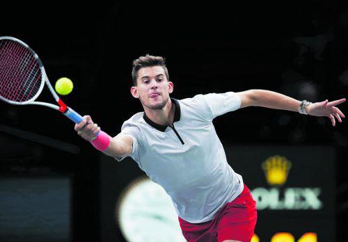 Dominic Thiem schaffte mit dem Sieg über Jack Sock in Paris-Bercy erstmals den Einzug ins Halbfinale. Österreichs Tennis-Ass kommt dem Masters in London immer näher.ap