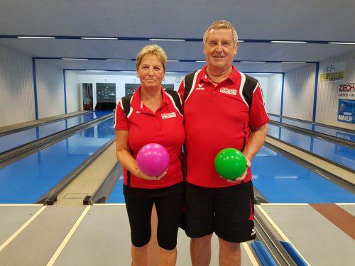 Doris Schatzmann und Wilfried Pürstl. pensionistenverband Götzis